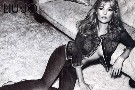 Kate Moss Liu Jo Spring Summer 2011 Ad Campaign