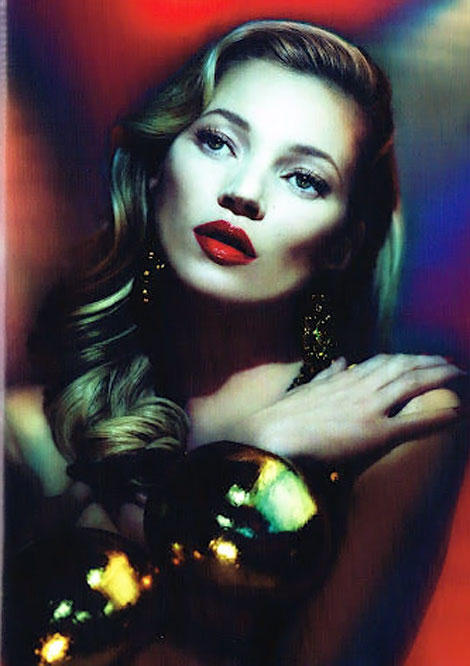 Kate Moss photographed by Mert and Marcus for Vogue