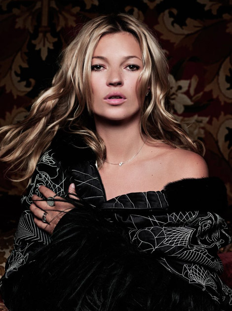 Kate Moss recent photos for Madame Figaro