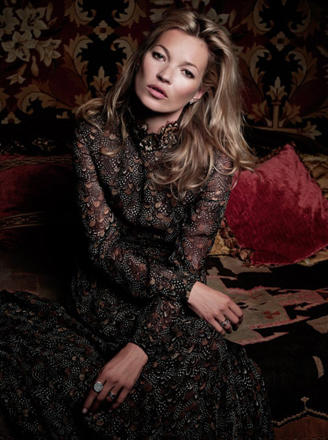 Kate Moss retouched in recent photos for Marie Claire