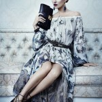 Kate Moss younger for Ferragamo Fall 2012 ads
