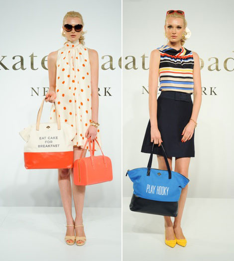 Katie Spade Spring Summer 2012 collection