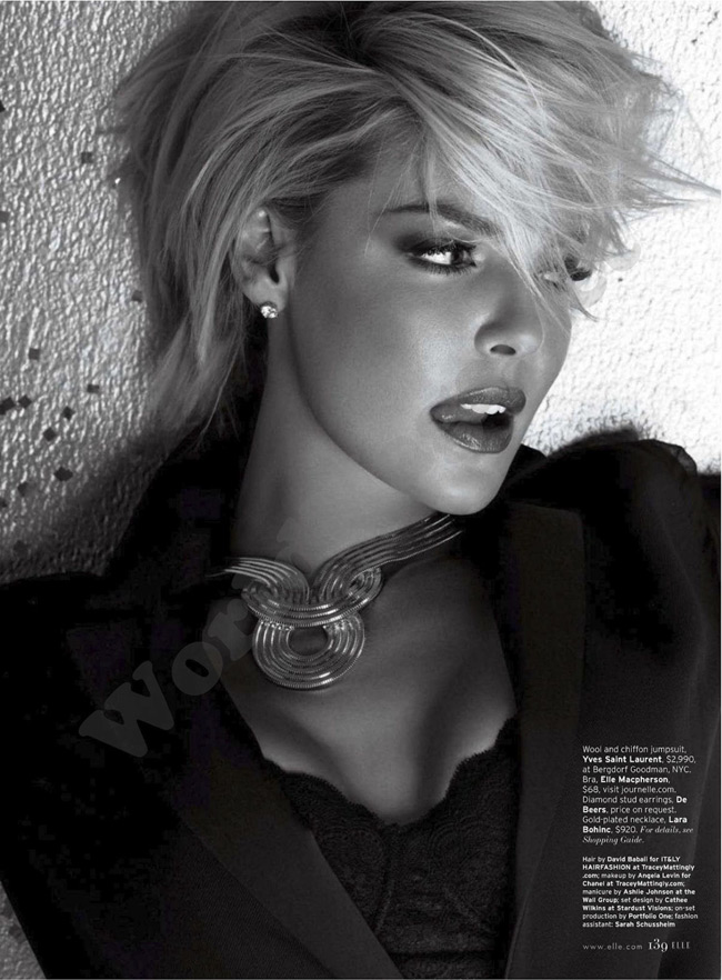 Katherine Heigl Elle January 2012