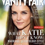 Katie Holmes Vanity Fair October 2012 cover