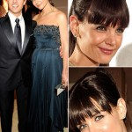 Katie Holmes new haircut Oscars VF Afterparty with Tom Cruise