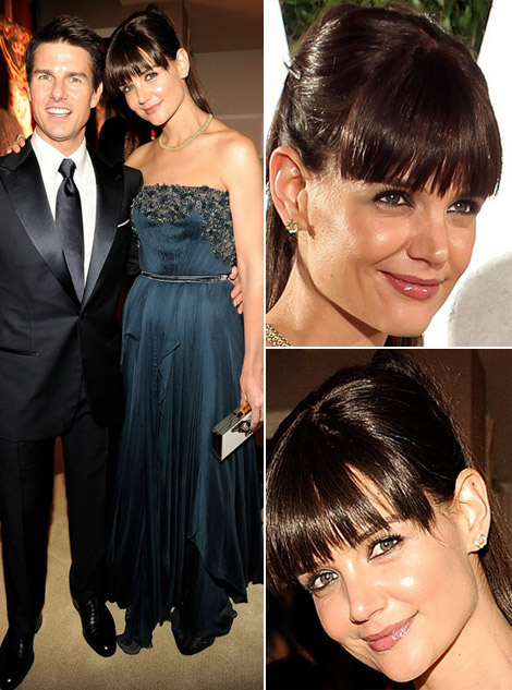 Katie Holmes New Haircut For Oscars After Party
