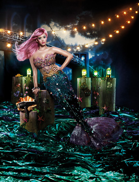 Katy Perry's GHD Ad Campaign
