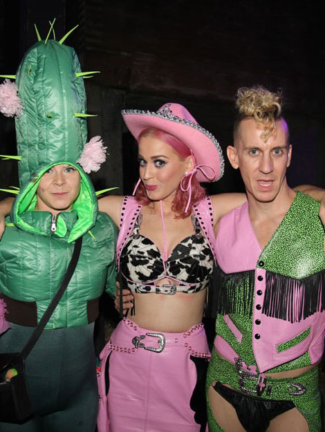 Katy Perry Jeremy Scott Robyn Wild West Birthday Party
