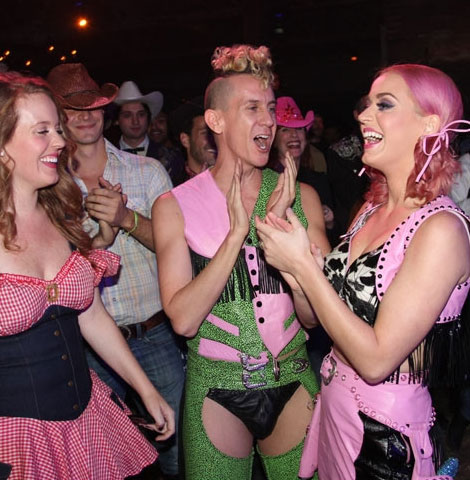 Katy Perry Jeremy Scott Wild West Birthday Party