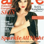 Keira Knightley Anna Karenina Allure December 2012 cover
