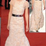 Keira Knightley Anna Karenina Premiere pale pink Chanel dress