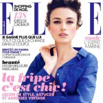 Keira Knightley s blue Elle France cover