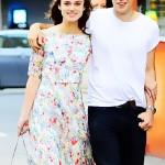Keira Knightley with finace James Righton