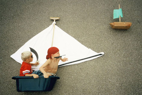 Kids Photography Jan von Holleben Pirates
