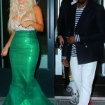 Kim Kardashian s mermaid Halloween costume Kanye dressed as sailor