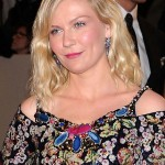 Kirsten Dunst sequined floral dress Met Gala 2011