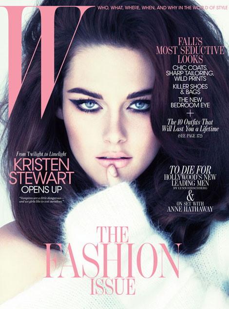Kristen Stewart W Magazine September 2011 cover
