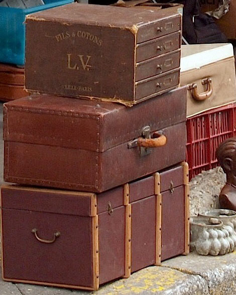 LV vintage trunk