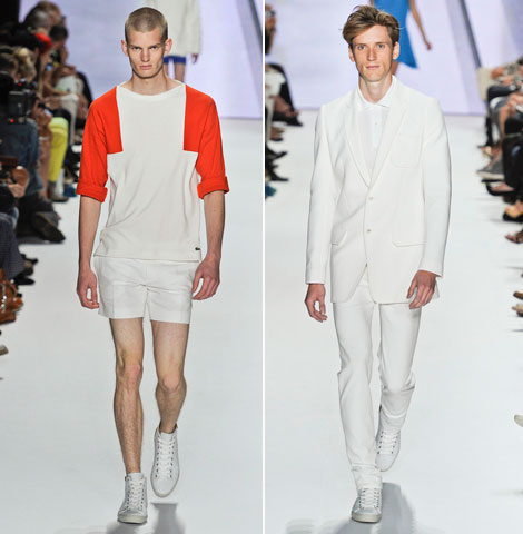 Lacoste Spring Summer 2012 men collection