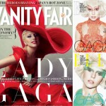 Lady Gaga January 2012 Vanity Fair Elle UK covers