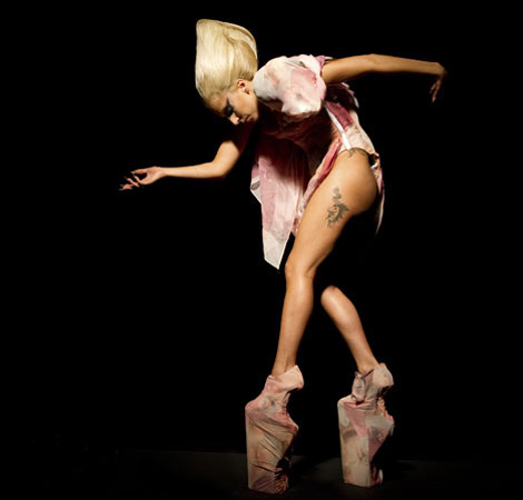 The Masterpiece Dress By Lady Gaga And Formichetti For Viva Glam