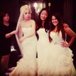 Lady Gaga s White Vera Wang Wedding Dress