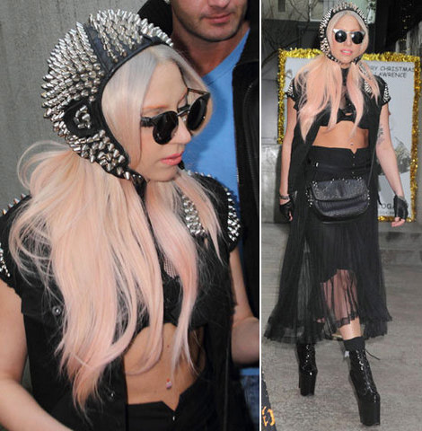 Sun Is Shining, Sky Is Blue, Lady Gaga Wears Fakes Too!