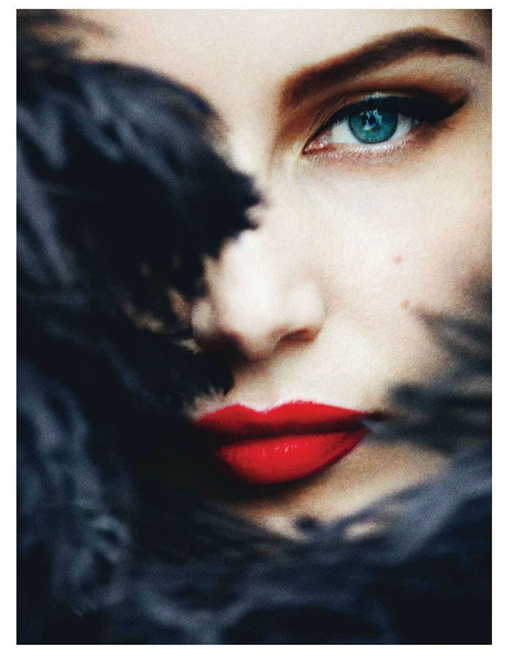 Laetitia Casta Vogue Paris May 2012 photo by Mario Testino