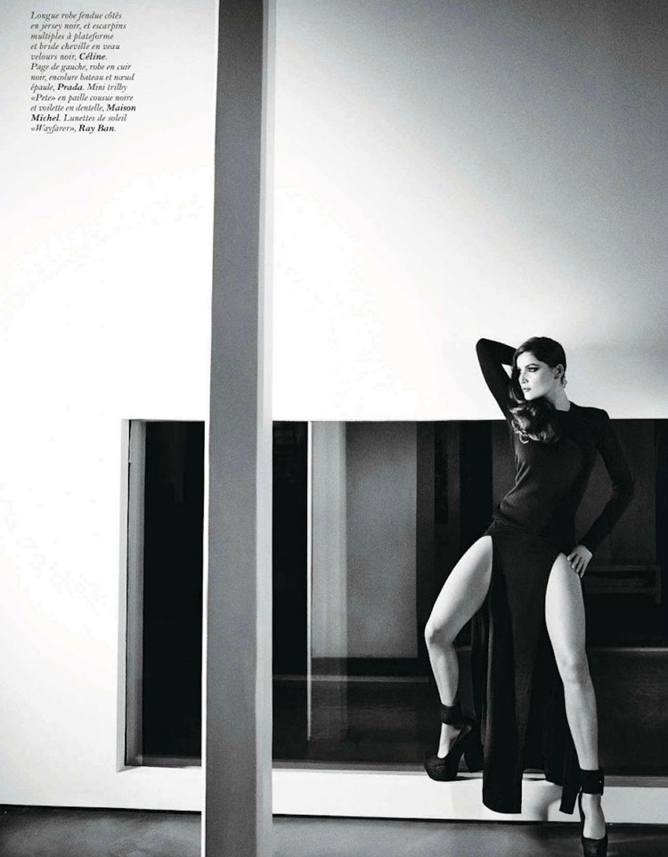 Laetitia Casta for Vogue Paris photo