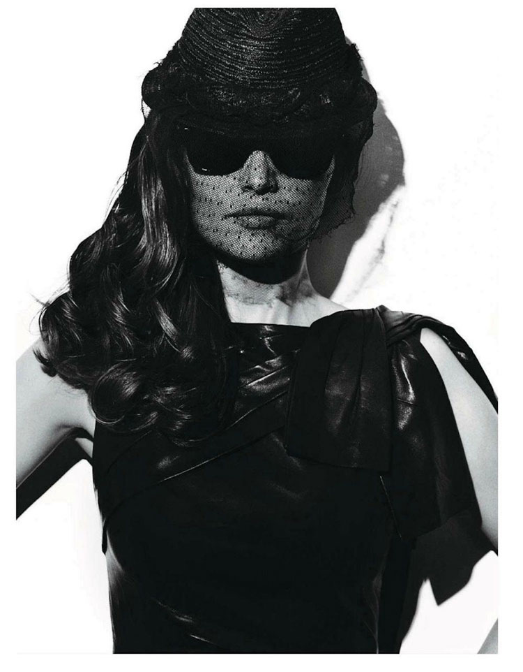 Laetitia Casta styled by Emmanuelle Alt Vogue Paris May 2012