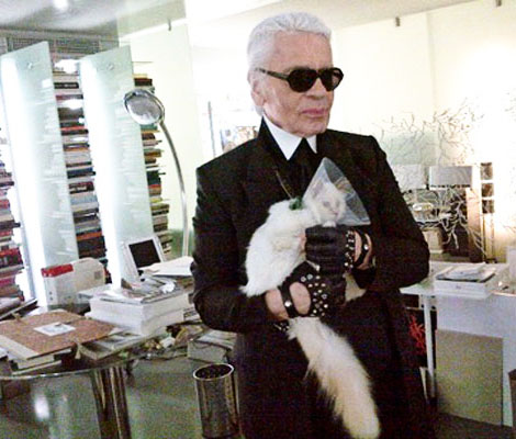 Lagerfeld Replaced Giabiconi With Choupette!