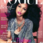 Lais Ribeiro Vogue Germany March 2012 cover