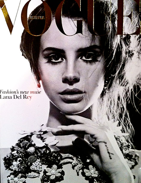 Lana Del Rey Vogue Australia October 2012 cover