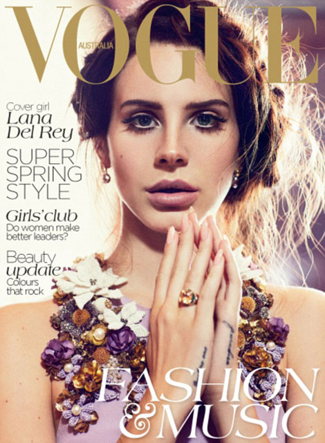 Lana Del Rey covers Vogue Australia October 2012