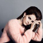 Lana del Rey pink H and M ad campaign fall 2012