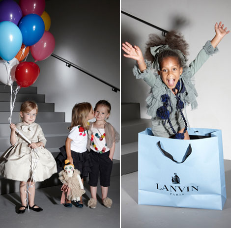 Lanvin Spring Summer Resort 2012 collection kids