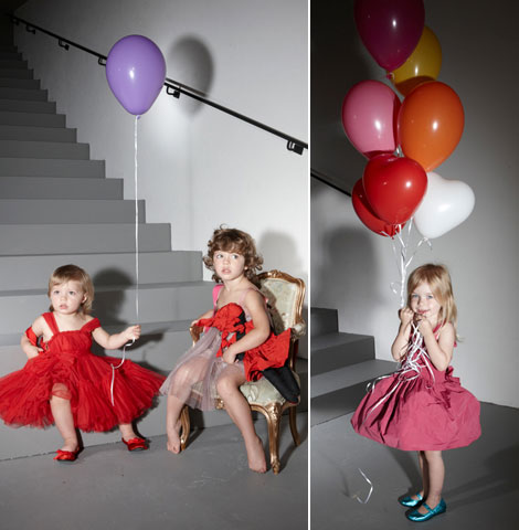 Lanvin children collection balloons
