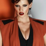 Lara Stone 80s inspired pictorial Vogue Turkey April 2012