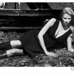 Lara Stone Calvin Klein Fall Winter 2012 2013 ad campaign