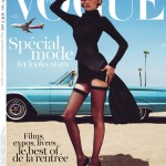 Lara Stone Vogue Paris August 2011 cover