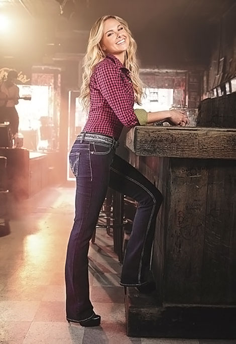 Laura Bell Bundy Booty Up Wrangler New Jeans Ad Campaign