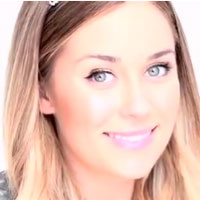 How To Apply Fake Lashes. Great How To With Lauren Conrad