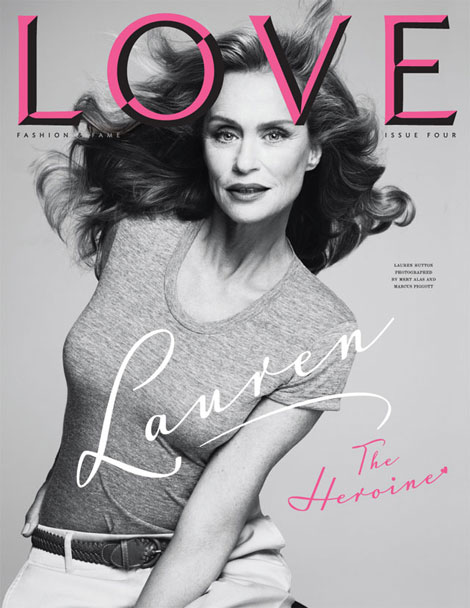 Lauren Hutton Love four cover