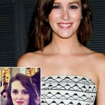 Leighton Meester new short haircut