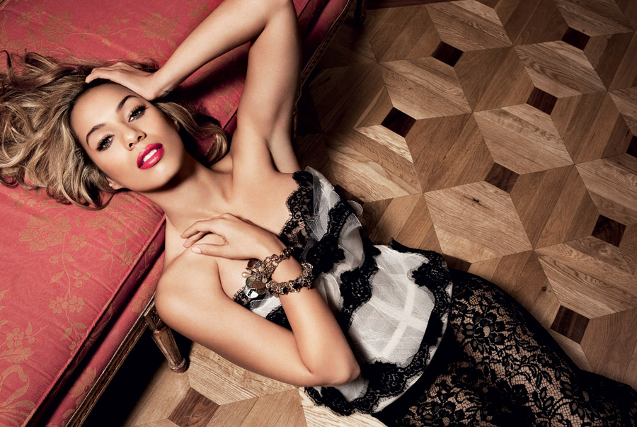 Leona Lewis Does InStyle June 2010