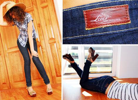 Levi s Slight Curve Skinny multi 470