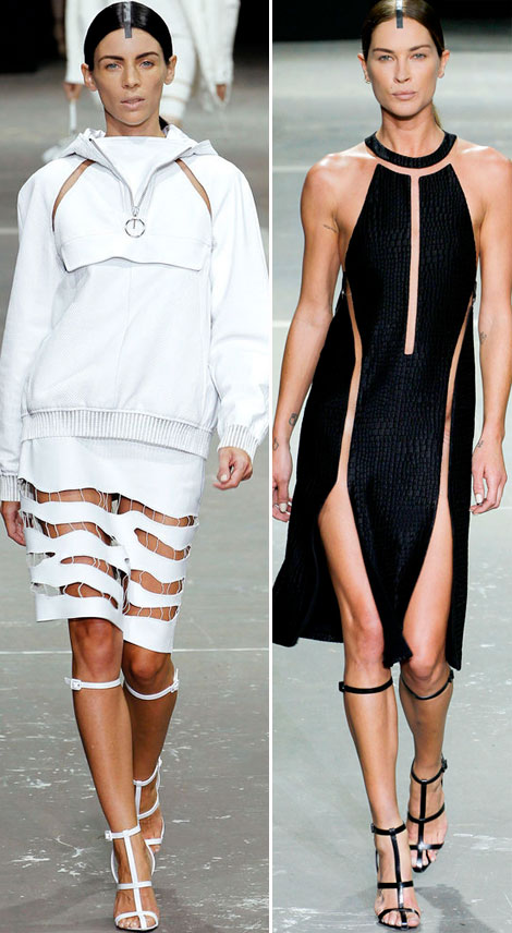 Liberty Ross Erin Wasson Alexander Wang Spring Summer 2013 catwalk