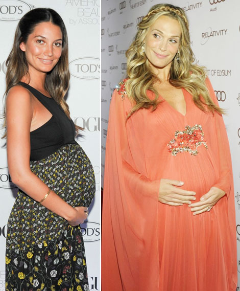 Congrats To Molly Sims And Lily Aldridge For Welcoming Their Babies!
