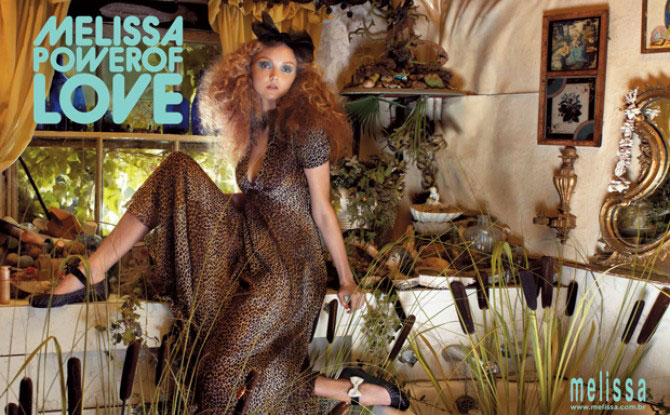 Lily Cole's Melissa Power Of Love Ad Campaign