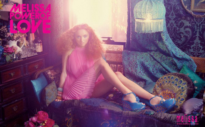 Lily Cole Melissa Power of Love campaign